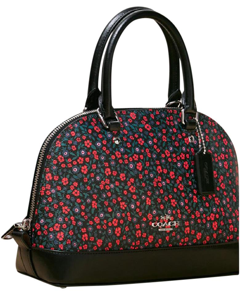 07f63bc58807 ... sweden coach sierra cora new domed floral crossbody leather satchel  tradesy 2067a f25aa