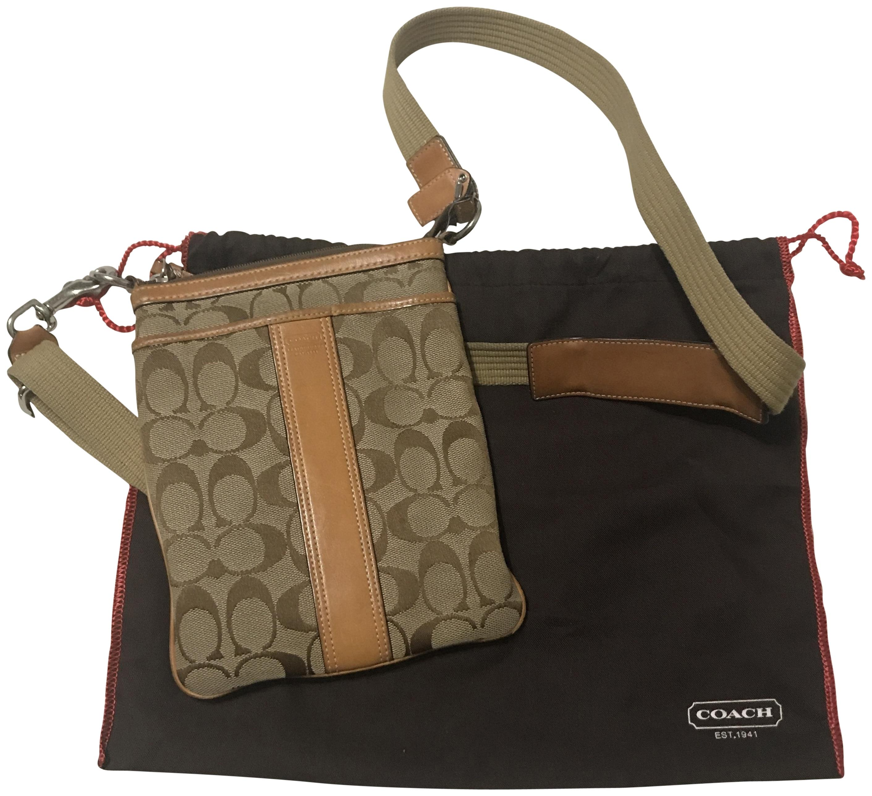 8030164941 12345678 6325c 99b23  where to buy coach leather signature monogram messenger  cross body bag 38065 62933