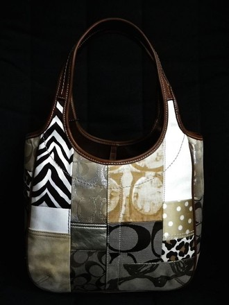 Coach Channel Hermes Gucci Louis Vuitton Rare Tote in Beiges/Khaki/Brown