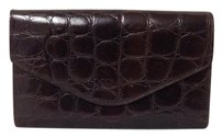 Coccinelle Coccinelle Italy Leather Croc Embossed Wallet