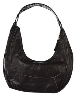 Coccinelle Womens Casual Leather Handbag Hobo Bag
