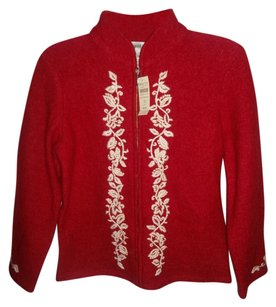 Coldwater Creek Red/White Jacket