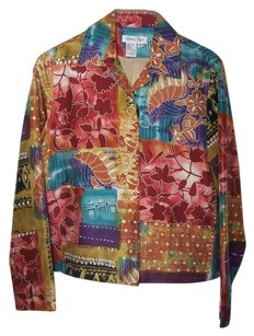 Coldwater Creek multi color Jacket