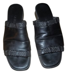 Cole Haan 6.5 Leather black Mules