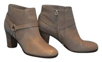 Cole Haan B6 Calixta Leather Heels Ankle B Maple Sugar Boots