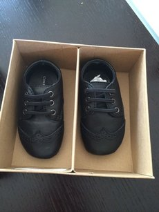 Cole Haan Black Baby Mini Oxford Other