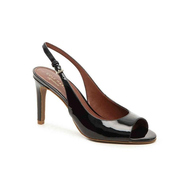 Cole Haan Patent Leather Slingback Pumps clearance footaction best seller cheap with paypal for nice sale online gWI1i7