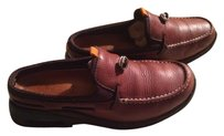 Cole Haan Leather Clogs Mules Brown & Black Flats