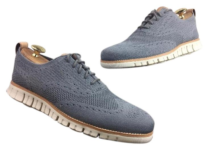 Cole Haan Men's Zerogrand Oxford with Stitchlite - Grey M Sneakers Size US 9 Regular (M, B)