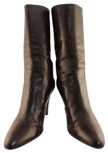 Cole Haan Womens Mid Brown Boots
