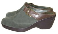 Cole Haan olive Mules