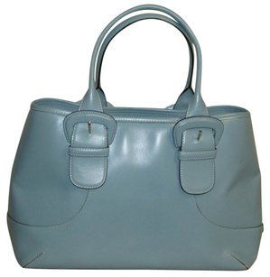 Cole Haan Tote in dark aqua blue