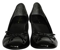 Cole Haan Wedge Leather Cap-toe Classic Black Wedges