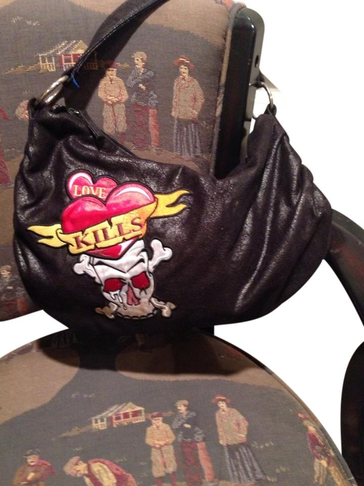 CONCEPT ONE LOVE KILLS SKULL/BONES BAG