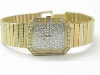 Concord 18kt Womens Concord Diamond Pave Yellow Gold Quartz Watch 48.5 Grams