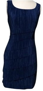 Connected Apparel short dress Blue on Tradesy