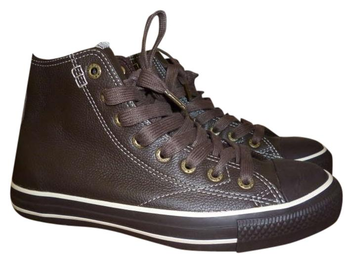 chocolate brown converse