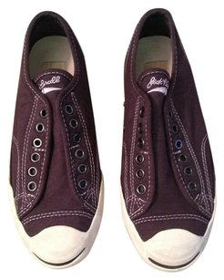 Converse Limited Edition Slip-on Laceless Preppy Classic Fudge Brown Purple Athletic