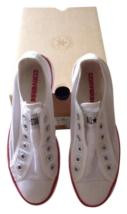 Water Water Resistant Converse Flats White Tradesy Yqxaw8f 0a57bf7ab