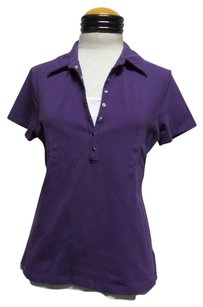 Croft & Barrow Polo T Shirt Purple