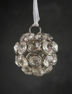 Crystal Hanging Balls Diamond Globe 4.5