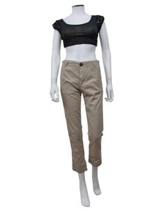 Current/Elliott Current Elliott The Buddy Capri/Cropped Pants Khaki