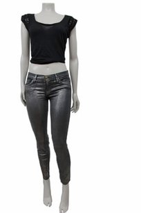 Current/Elliott Currentelliott Silver The Skinny Jeans