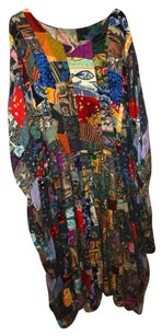 Very colorful, was originally a quilt. Fits sizes 12-28 Maxi Dress by Custom-Made