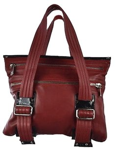 Cynthia Rowley Womens Satchel in Red