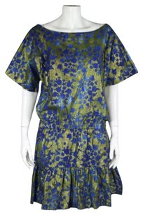 Cynthia Rowley Womens Blue Dress