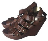Cynthia Vincent for Target Cognac Brown Wedges