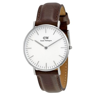 Daniel Wellington Classic Bristol White Dial Ladies Quartz Watch 0611DW