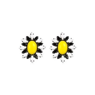 DANNIJO Dannijo Jude Sunny Daisy Earrings
