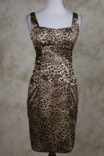 David Meister Womens Brown Dress