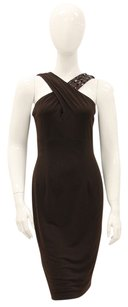 David Meister Sheath Fitted Flattering Night Out Date Night Dress