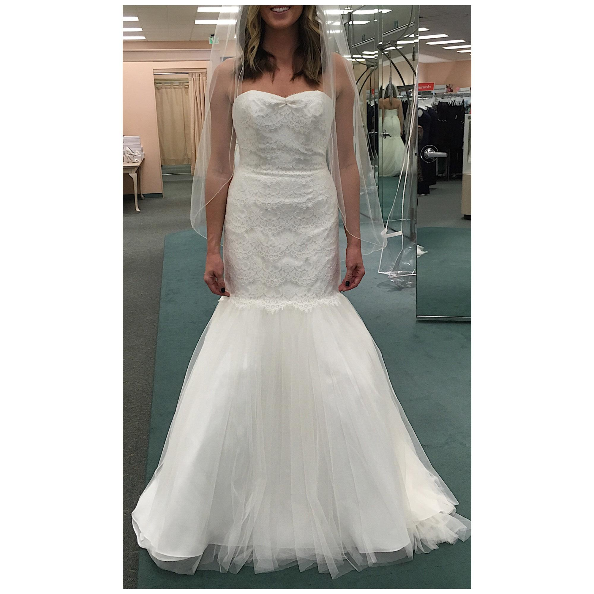 Lace Wedding Dress with Tulle Skirt