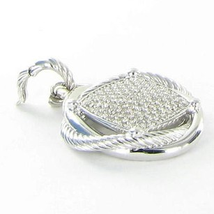 David Yurman David Yurman Infinity Diamond Enhancer 1.74cts Sterling Silver 925