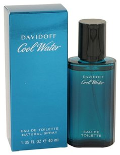 davidoff Cool Water By Davidoff Eau De Toilette Spray 1.35 Oz