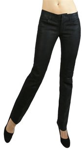 DDCLAB Narrow Straight Leg Straight Pants black