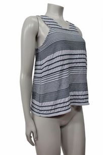 Deletta Anthropologie Stacked Top Gray black