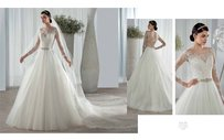 Demetrios 582 Wedding Dress