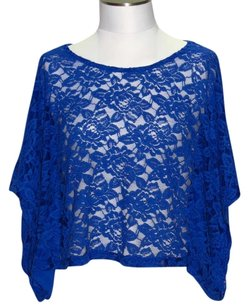 Derek Heart Top Blue
