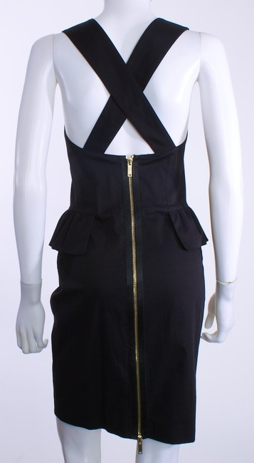 Derek Lam Gold Zipper Dress