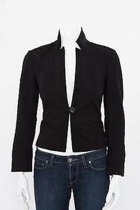 Diane von Furstenberg Dvf Valle Stretch Black Jacket