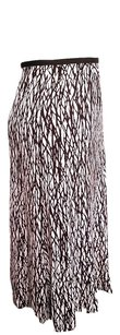 Diane von Furstenberg Dvf 100% Silk Calf Length Clingy Skirt