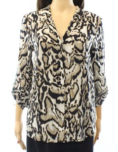 Diane von Furstenberg Long Sleeve Top