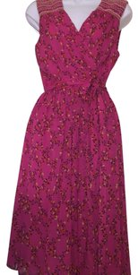 Pink/floral Maxi Dress by Diane von Furstenberg