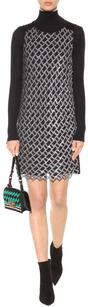Diane von Furstenberg Party Sequin Embellished Modern Dress