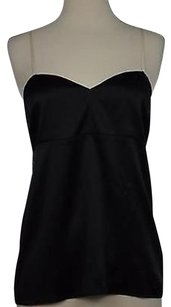 Diane von Furstenberg Womens Shirt Top Black