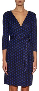 Diane von Furstenberg Dvf Julian Two Navy Dress